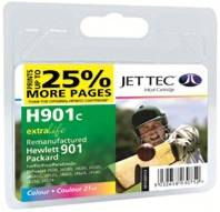 HP CC656A - No 901 Colour Jettec recycled Cartridge