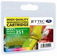 HP CB337ee - No 351 Colour recycled Jettec Cartridge