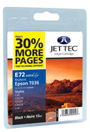 C42 - C44 - C46 JetTec Compatible Inkjet Cartridge,  for brilliant photos and fantastic presentations.Unique award winning cartridge design means 30% more pages