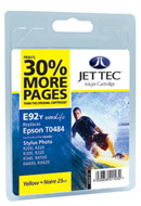 Jettec Epson Stylus Photo 950 - Photo 960 compatible Yellow