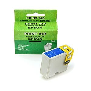 Epson Stylus colour 400 / 440 / 460 / 600 / 640 / 660 / 670 Compatible Inkjet Cartridge, Specifically tailored inks
