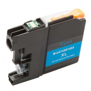 LC223 - LC225 compatible Cyan High Yield Ink cartridges
