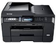 The DCP-330C all-in-one colour printer copyier and scanner inkjet printer ink cartridges