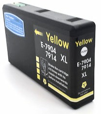 Yellow T7904 Extra High Yield Compatible Ink